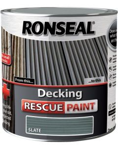 Ronseal Decking Rescue Paint-Charcoal 2.5L