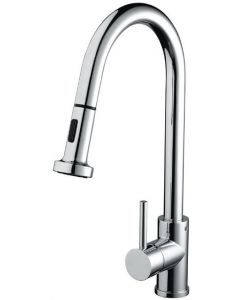 Bristan Apricot Professional Kitchen Sink Mixer with Pull Out Spray  - APR PULLSNK C