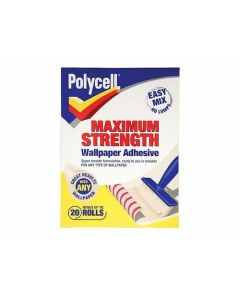 Polycell Polyfilla Max Strength Wallpaper Adhesive 5 Rolls