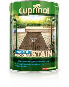 Cuprinol Anti-Slip Deck/Stain 2.5 Litres Vermont Green