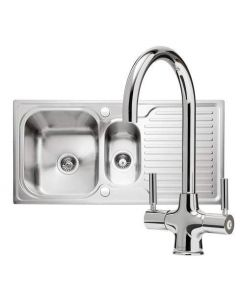 Sabre 150 Sink & Tap Pack PK/SA150