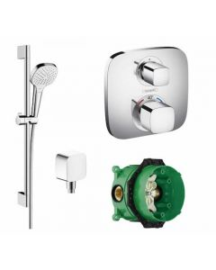 Hansgrohe Croma Select E with Ecostat 1 Way Pack - 88100951