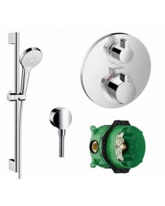 Hansgrohe Croma Select S with Ecostat 1 Way Pack - 88100950