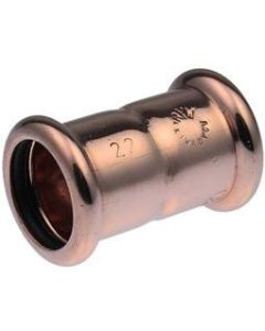 Xpress Copper S1 Straight Coupling 22mm - 38020