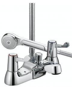 "Bristan Lever Bath Shower Mixer 3"" Chrome 3/4"" C/D VAL BSM C CD"