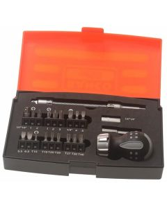 Bahco  22 Piece Ratchet Screwdriver Set - 808050S22