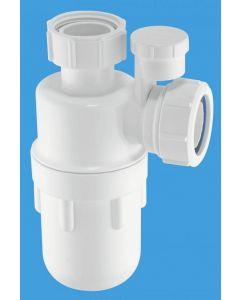 "McAlpine A10V Anti-Syphon Bottle Trap 1.1/4"" x 75mm Seal (Silentrap)"