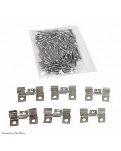 Gronodec Centre Clips & Screws (Pack of 100)