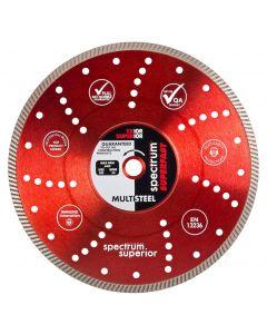 Spectrum Superior Multi-Steel Diamond Blade TX10R