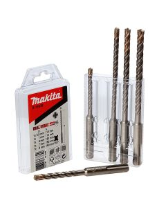 Makita B-16938 5 Piece Nemesis SDS Plus Drill Set