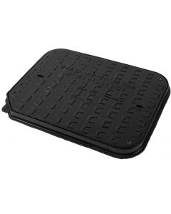 Ductile Iron Solid Top Manhole Cover & Frame B125