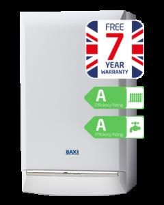 Baxi Duo-Tec 33kW Combi Boiler ERP (7 Year Warranty)
