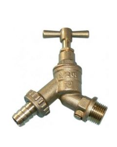 "Hose Union BIB Cock 1/2"" with Double Check Valve"
