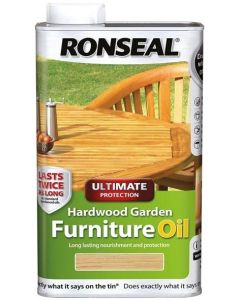 Ronseal Hardwood Garden Furniture Oil