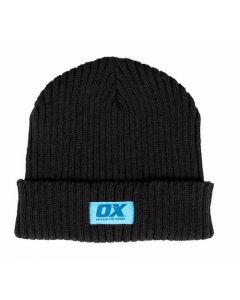 OX Winter Knitted Beanie Black - OX-W551701