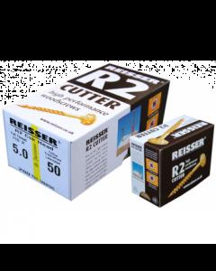 Box 200 Reisser R2 Cutter Yellow H/P Wood Screw 4.0x50mm