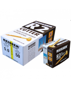 Box 200 Reisser R2 Cutter Yellow H/P Wood Screw 5.0x60mm