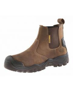 Buckler Dealer Boot Dark Brown Crazy Horse Leather