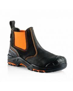 Buckler Buckz Viz Hi Vis Safety Dealer Boot Orange - BVIZ3OR