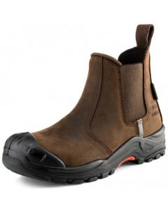 Buckler Nubuckz Safety Dealer Boot Dark Brown - NKZ101BR