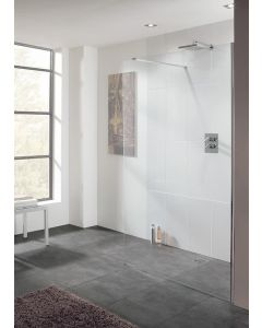 Lakes Cannes Walk in Shower Panel 10mm Glass 900x2000mm - LK1010090S