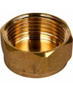 """Brass Cap 1/2"""""""
