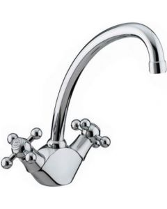 Bristan Regency Easyfit Monobloc Kitchen Sink Mixer Tap Chrome RG SNK EF C