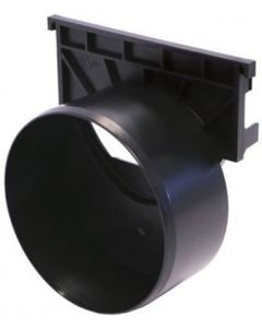 Aco Hexdrain Outlet End Cap 110mm - 319289
