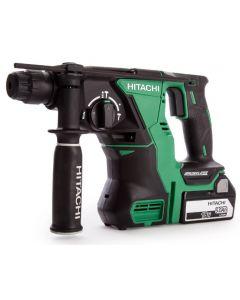 Hitachi 18v Brushless SDS Hammer Drill with 2x 5.0Ah Li-ion Batteries DH18DBL/JP