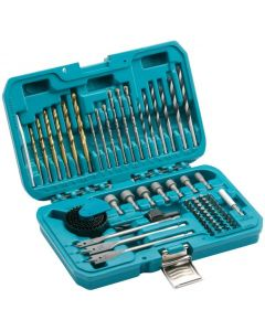 Makita 75 Piece Combination Drill Bit & Holesaw Kit - P-90641
