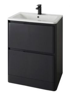 Fife Floor Standing 2 Drawer Unit with Basin 600mm  - 55707/55700