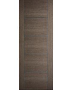 1981 x 762mm Choco Grey Vancouver Solid Internal Door