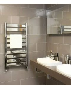 Vogue Vela Towel Rail Chrome 1300x500mm
