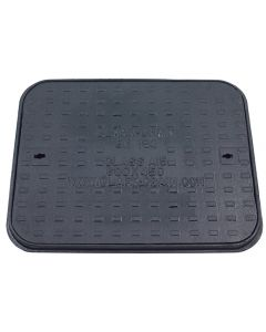 Cast Iron Manhole Cover and Frame 600x450mm Pedestrian
