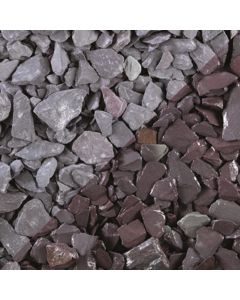 Plum Slate 20mm 25kg Poly Bag