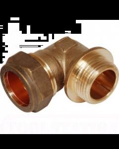 Compression Cu x Male Iron Elbow