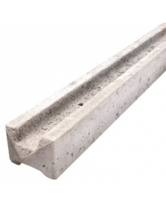 Concrete Slotted Intermediate Fence Post (Wetcast) 2.36mx100x100mm