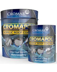Cromar Cromapol Acrylic Roof Coating Black 1kg