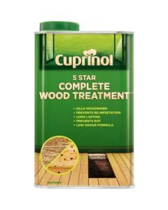 Cuprinol 5 Star Complete Wood Treatment 5 Litres