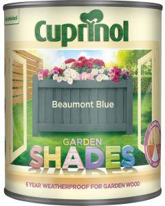 Cuprinol Garden Shades 1 Litre Beaumont Blue