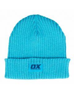 OX Winter Knitted Beanie Cyan - OX-W551702