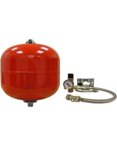 Expansion Vessel 12L Robokit With Fittings