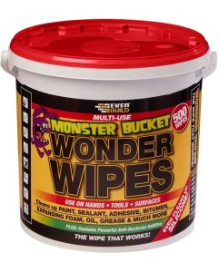 Everbuild Monster Bucket Wonder Wipes Tub