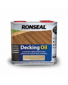 Ronseal Decking Oil-5 Litres-Natural