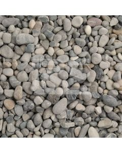 LRS Poly Bag Dove Grey Pebbles 8-16mm