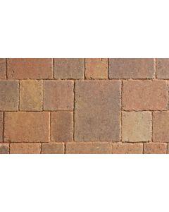 Marshalls Drivesett Tegula Original Block Paving-Autumn-120x160x50mm