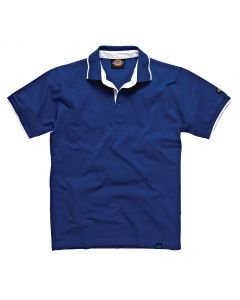Dickies DT2000 Anvil Polo Shirt-Blue-M