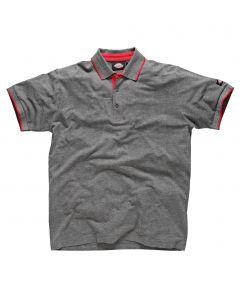 Dickies DT2000 Anvil Polo Shirt Grey L