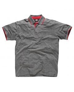 Dickies DT2000 Anvil Polo Shirt Grey XL