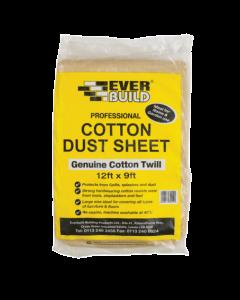 Everbuild Cotton Dust Sheet 12'X9'